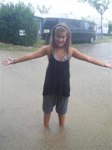 Een regen buitje