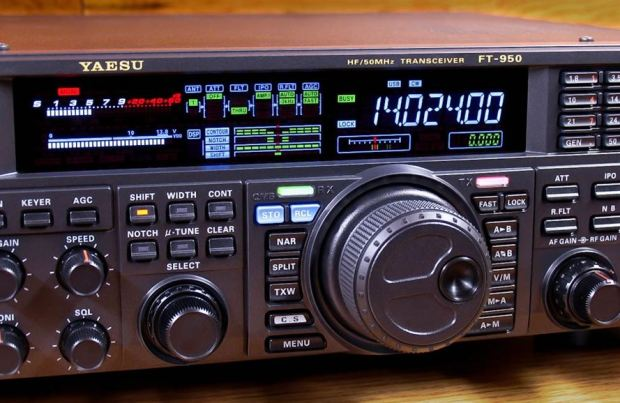 FT950 VFO knop Alu
